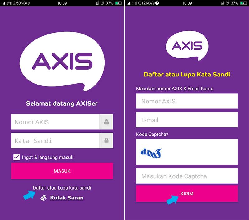 Daftarkan Nomor AXIS Anda