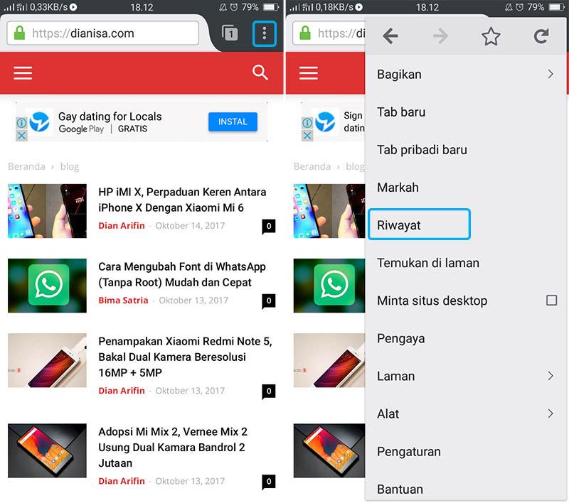 Hapus Riwayat Pencarian Mozilla Firefox