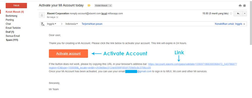Periksa Email Anda 1