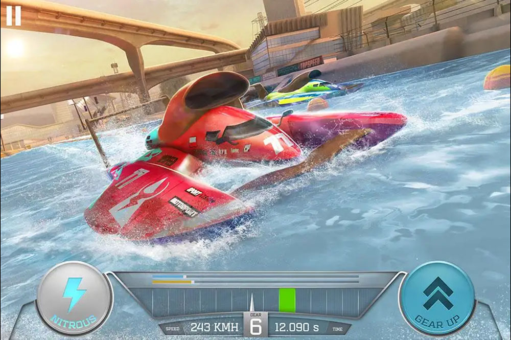 Boat Racing 3D - Jetski Driver & Water Simulator