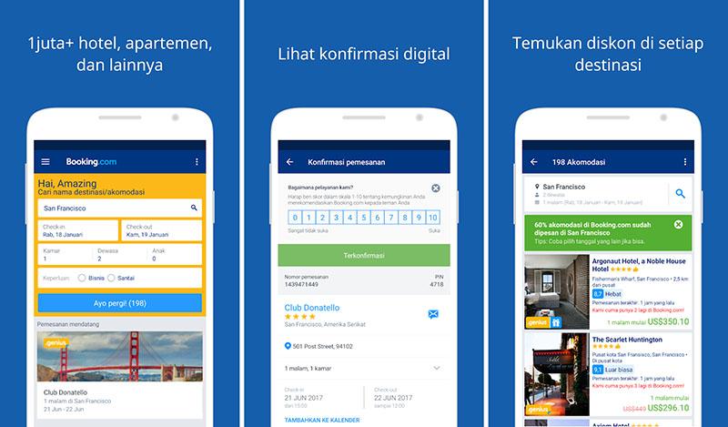 Booking.com – Pemesanan Hotel
