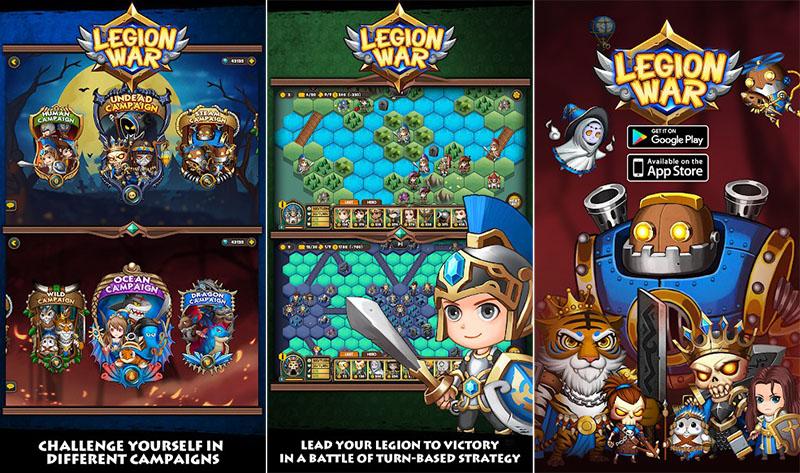 Legion War - Tactic & Strategy