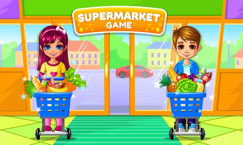 Supermarket Permainan Anak