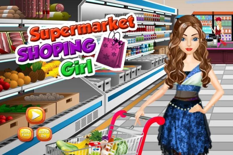 Supermarket Shopping Girl