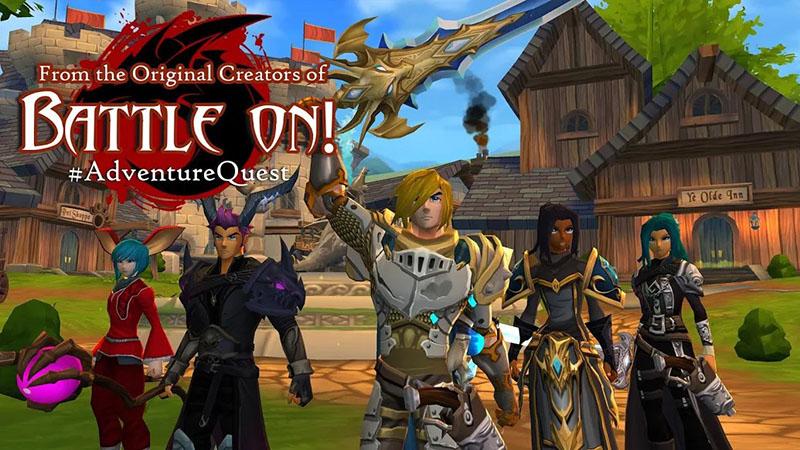 Adventure Quest 3D MMORPG
