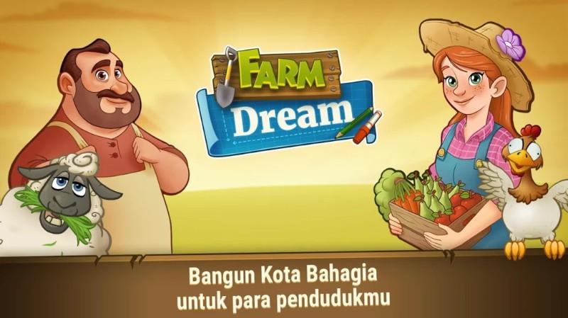 Farm Dream Village Harvest - Town Paradise Sim