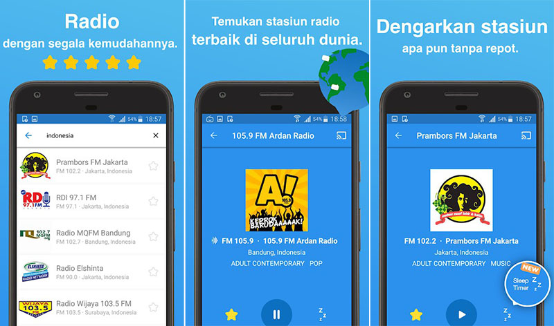 Simple Radio - Stasiun Radio FM AM