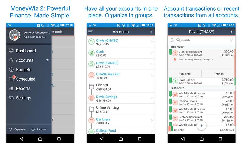 MoneyWiz 2 Personal Finance