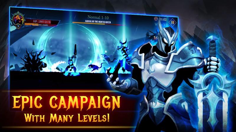 Shadow Fight Heroes - Dark Souls Stickman Fight