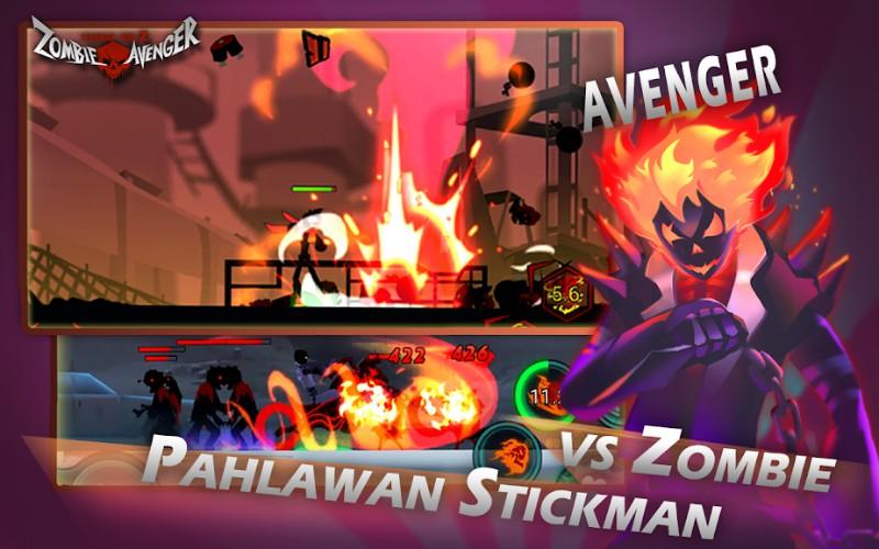 Zombie Avengers-(Dreamsky) Stickman War Z