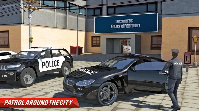 Kejahatan Kota - Simulator Mobil Polisi