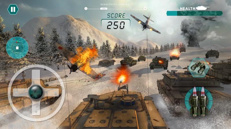 Pertempuran nyata dari Tank 2017 Tentara Dunia Me