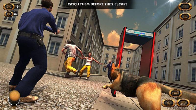 Polisi Anjing Serangan Penjara