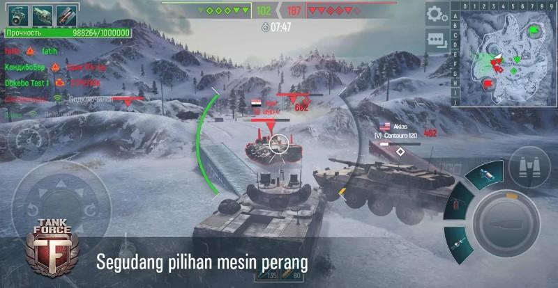 Tank Force Pertempuran Tank 3D