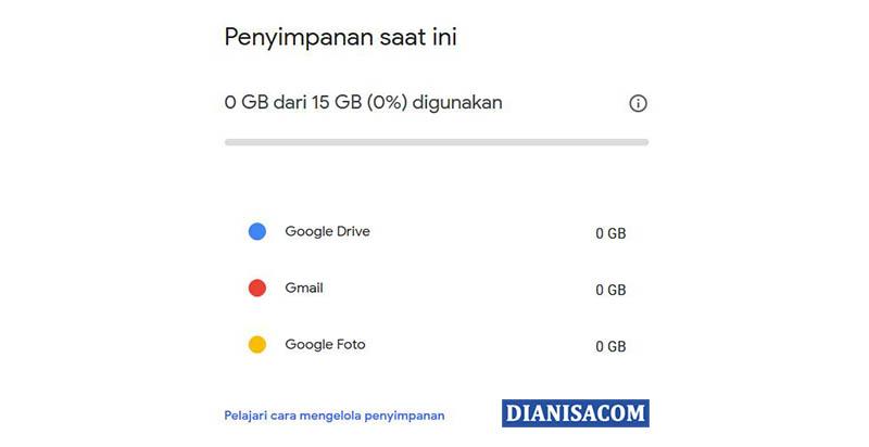 2. Kapasitas Gmail Yang besar
