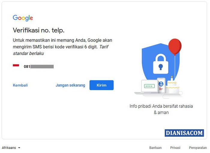 3. Cara Membuat Akun Google