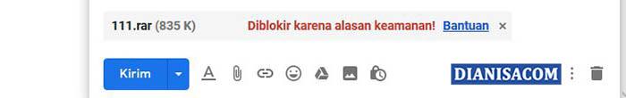 6. Deteksi Virus Gmail
