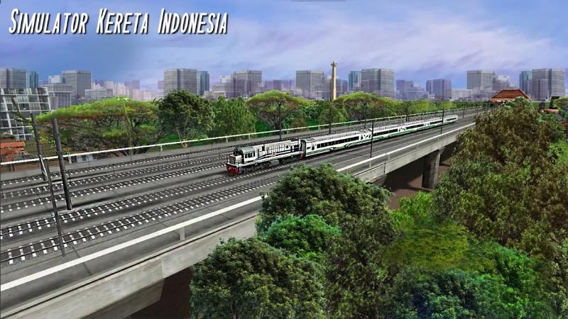 Simulator Kereta Indonesia