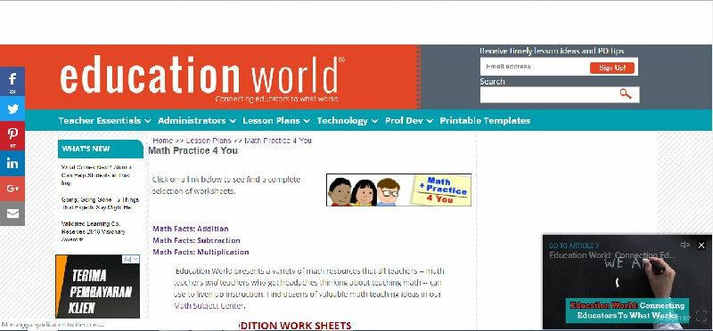 Educational World