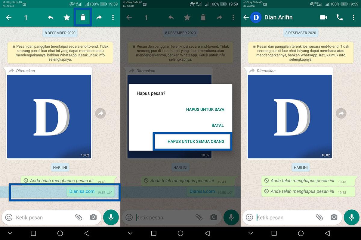 4 Menarik Chat WhatsApp