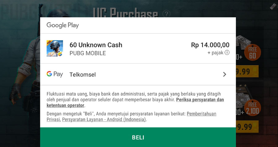 Top Up Google Play