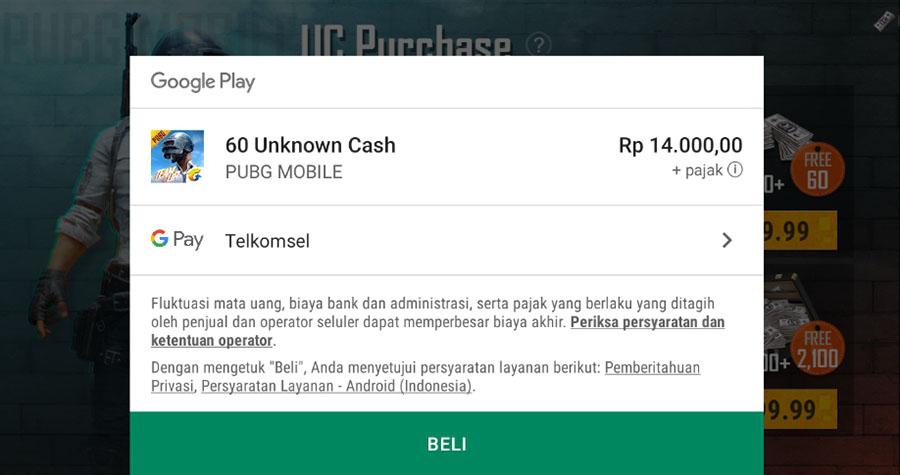 Top Up Google Play