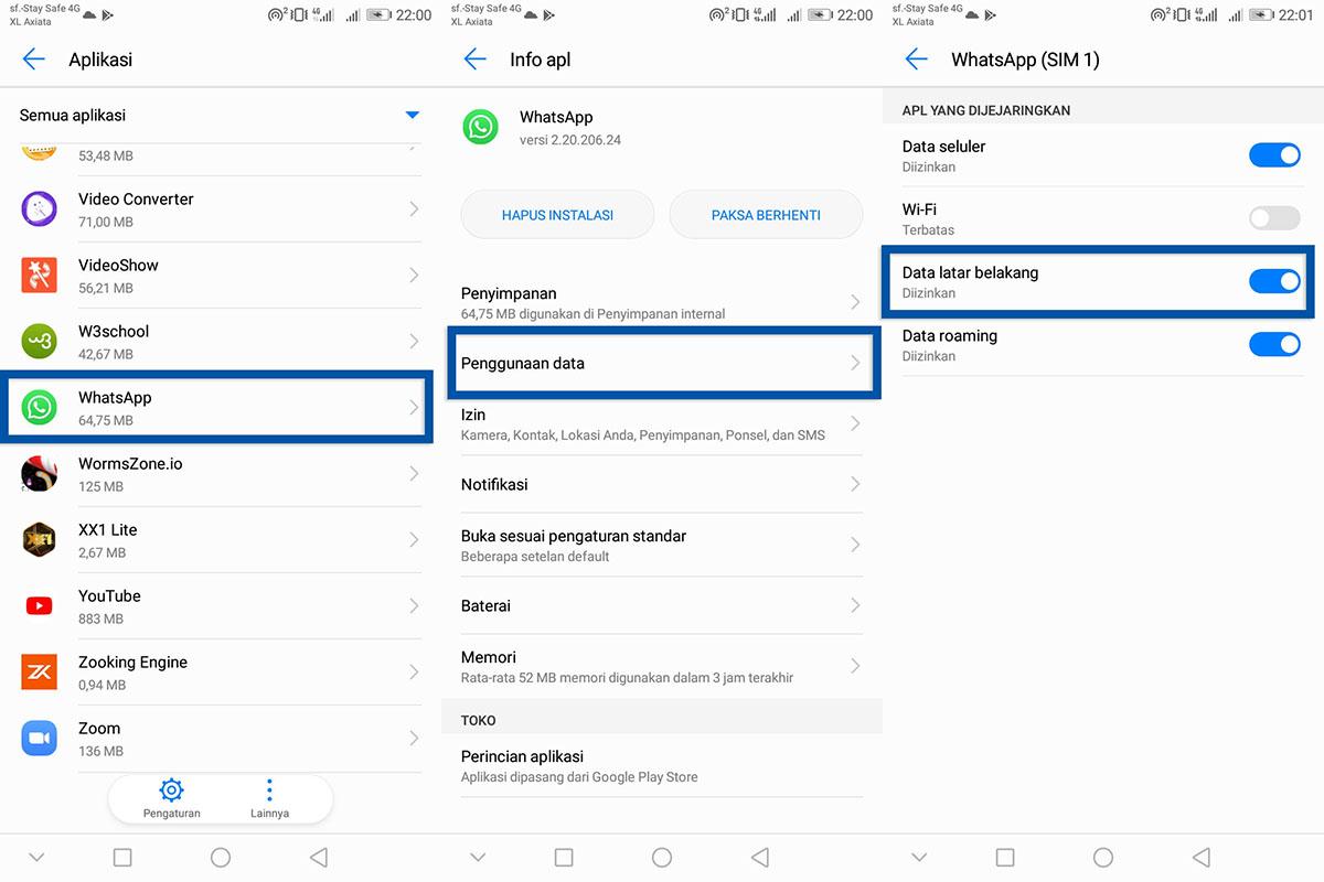 Data Latar Belakang WhatsApp