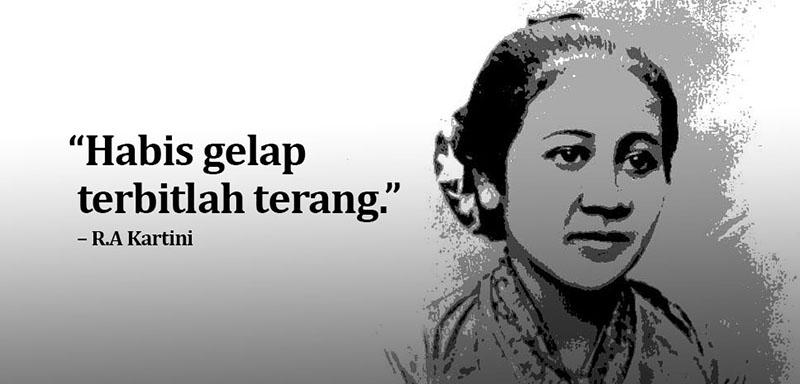 20 Quotes Kata Kata R A Kartini Terinspiratif Untuk Generasi Milenial