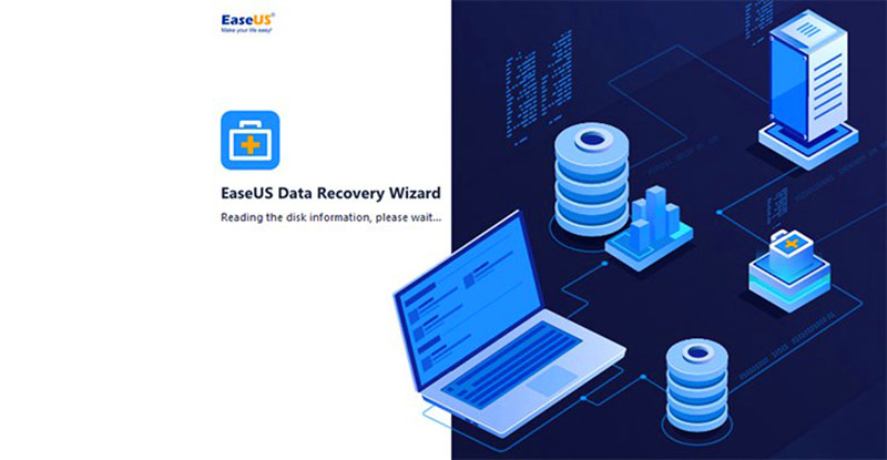 Software EaseUS Data Recovery Wizard