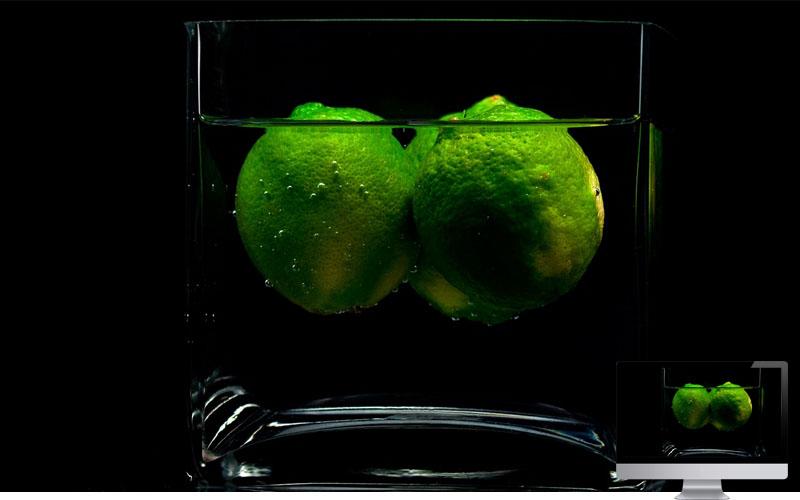 #26. Lime Glass Shade Fruit Liquid