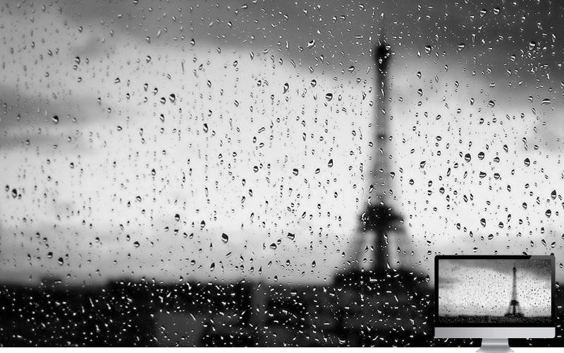 #10. Rain in Paris