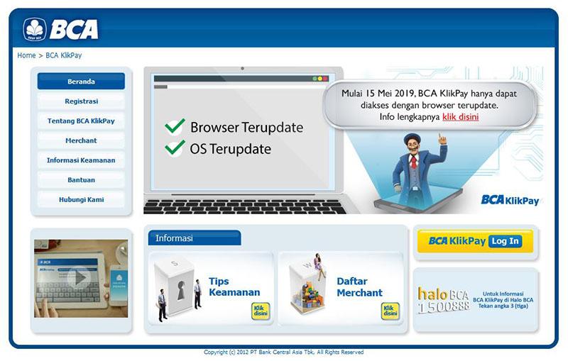 Akses Lebih Aman dengan KlikBCA.com