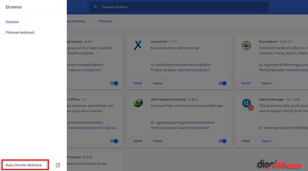 3. Chrome Web Store