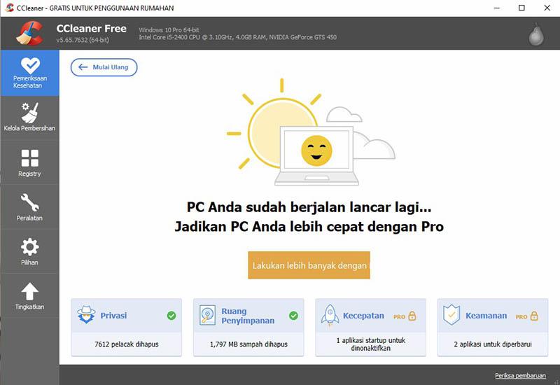 CCleaner Windows
