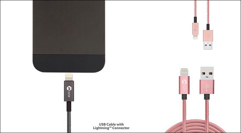 Mazer Lightning Cable 120CM 3.1A