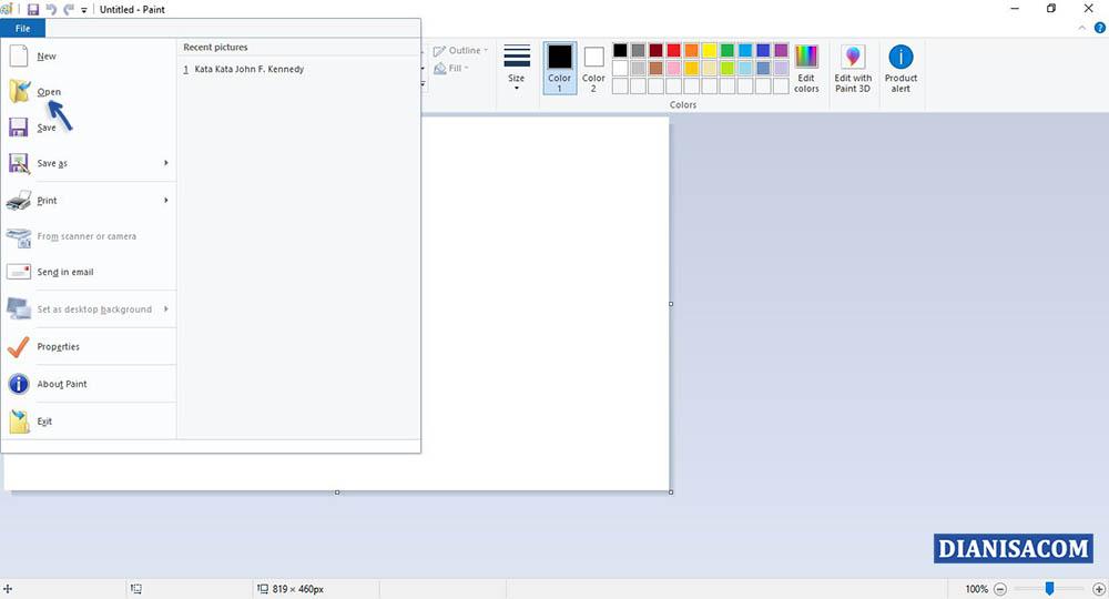 1 Mengecilkan Ukuran Foto di Laptop