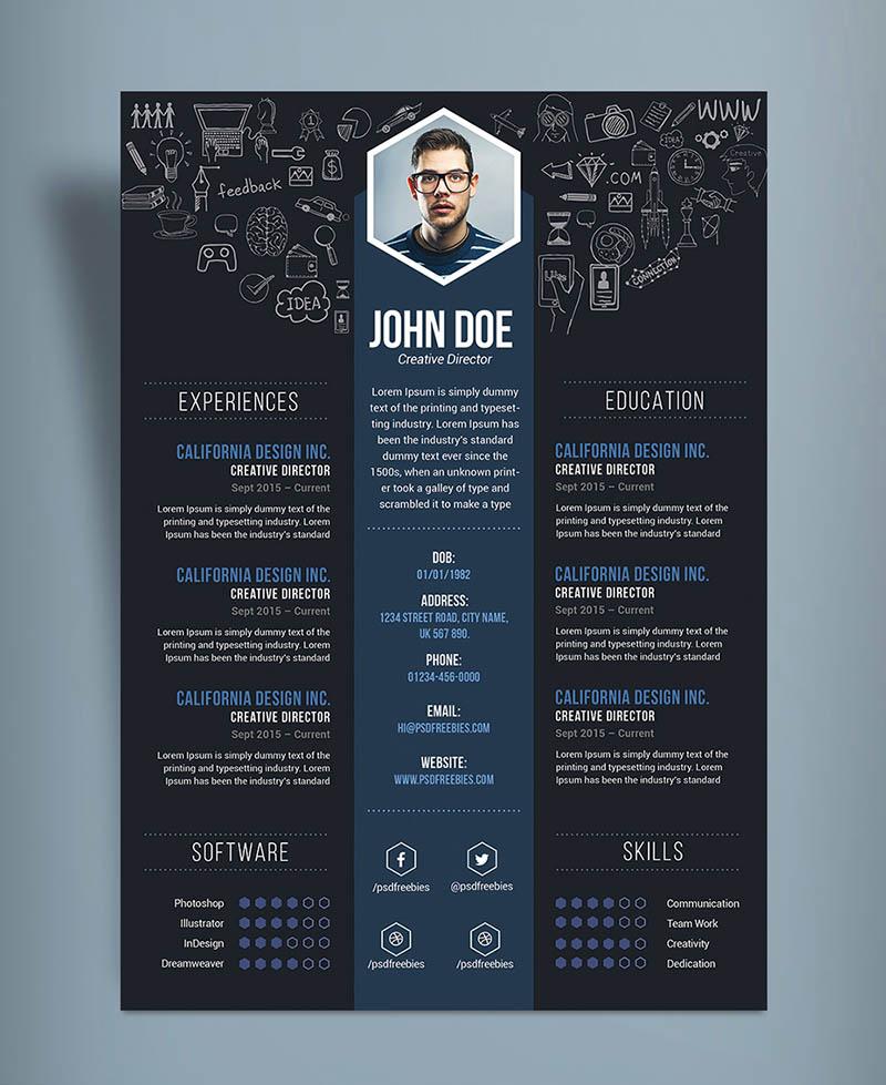 Buat Desain CV yang menarik