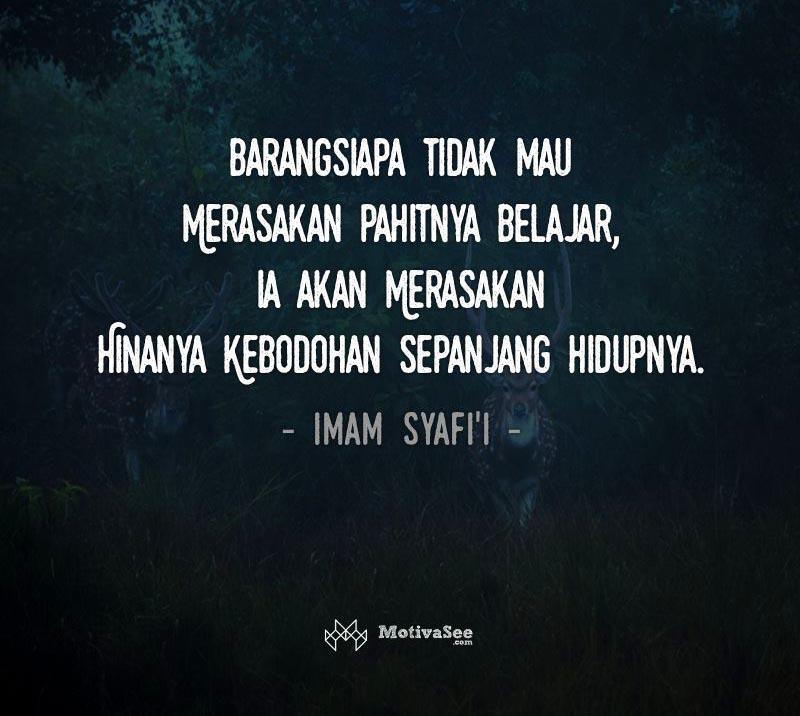 48 Quotes Kata Kata Imam Syafi I Mufti Besar Sunni Islam Penuh Makna