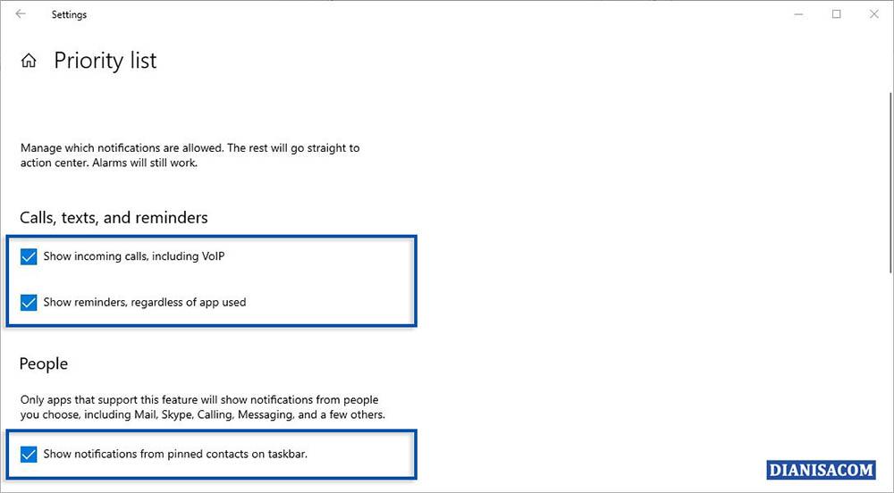 3 Menghilangkan Notifikasi Sementara Windows 10