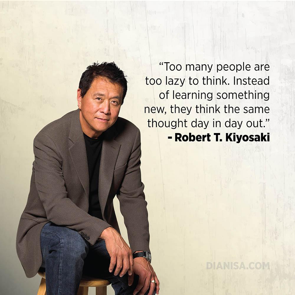 Kata Kata Bisnis Robert Kiyosaki
