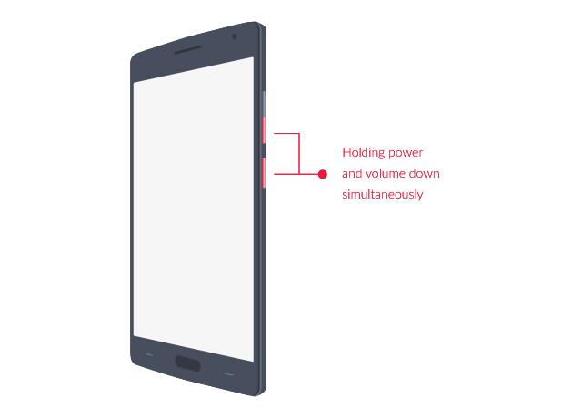 1. Masuk Recovery Mode OnePlus
