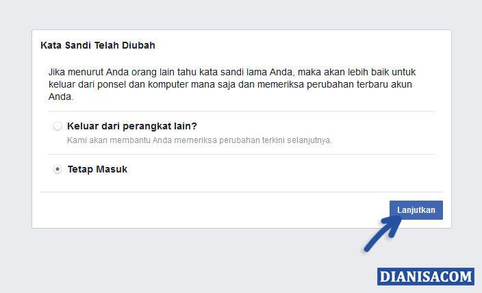 6 Tetap Masuk ke Facebook