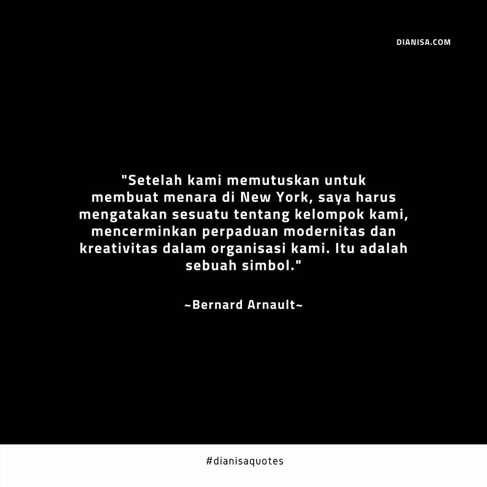 Kata Kata Bijak Bernard Arnault