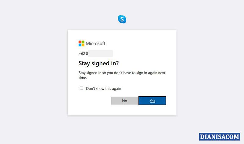 5 Tetap Login Skype