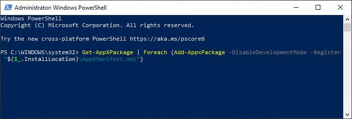 Register Ulang Windows Store