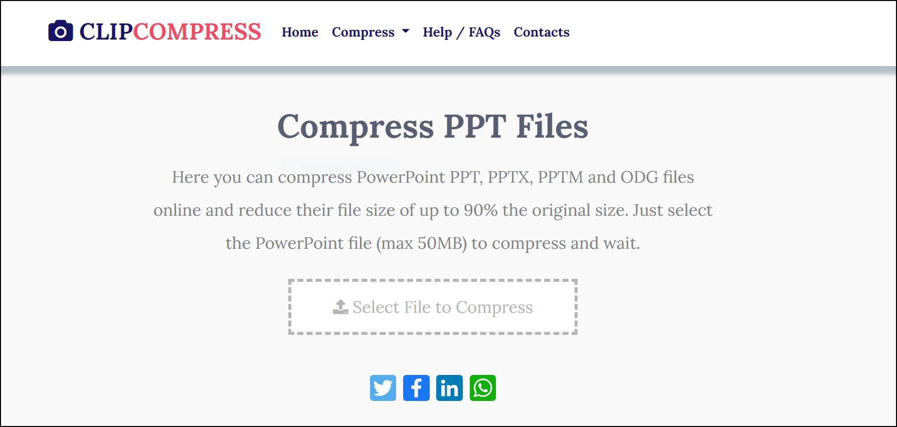 Mengecilkan file ppt