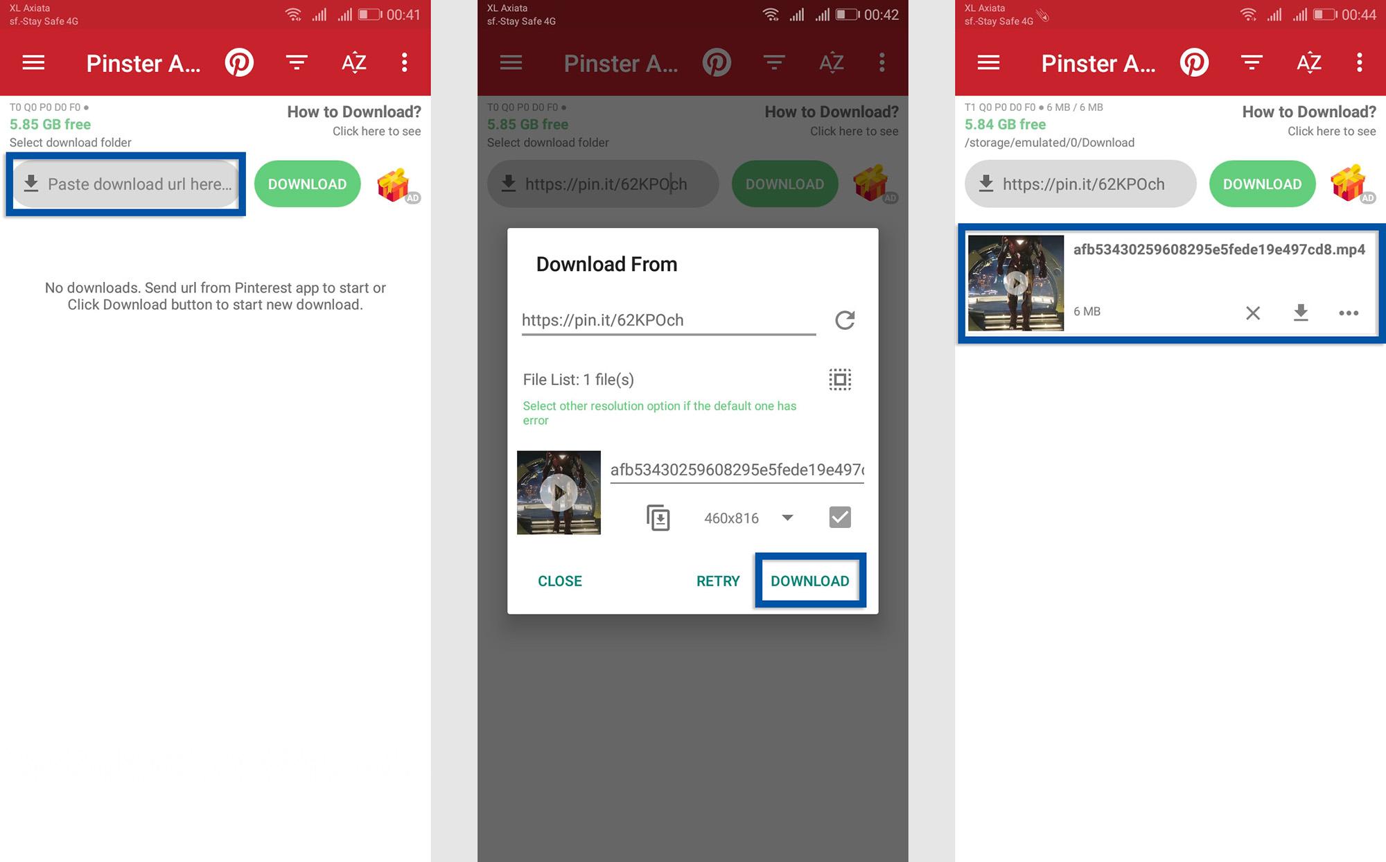 Video Downloader for Pinterest