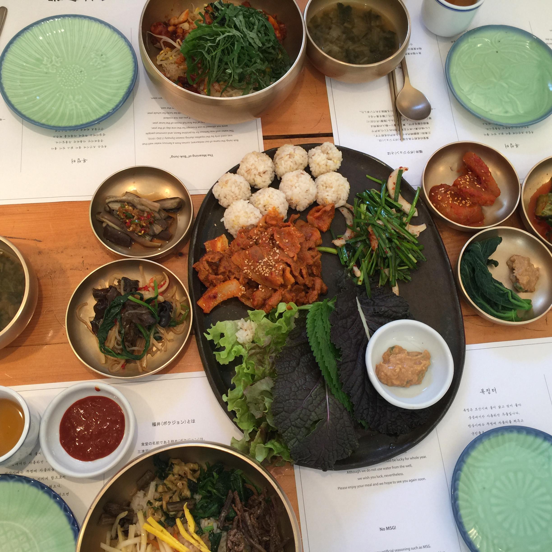 首爾。福井食堂