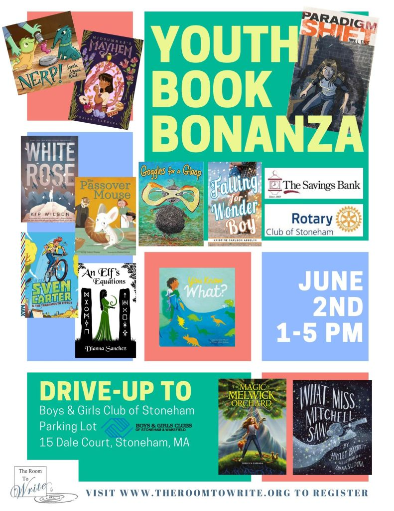 Youth Book Bonanza flyer