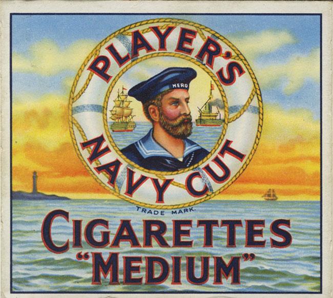 Player's Cigarettes logo